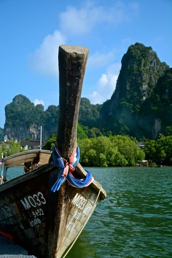 Spotted In Thailand Krabi Railay Beach Boat Landscape