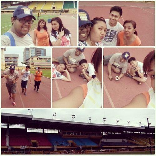 Healthy Living! Joggingbuddies Foursome Abellana