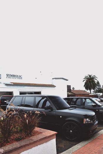 Range Rover Black Car