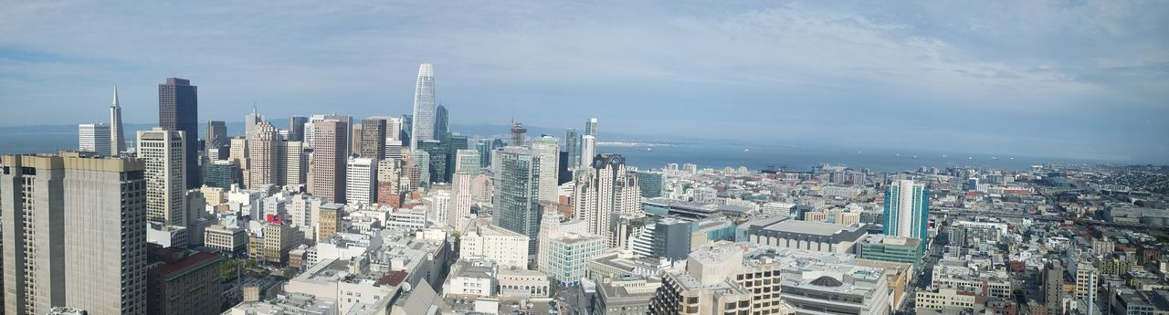 San francisco from a view