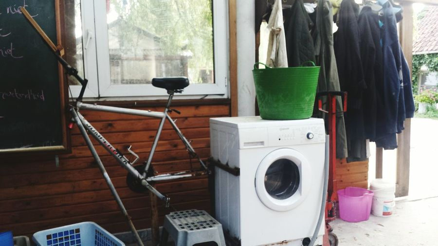 EyeEm Selects Washing Machine Window Indoors  Home Interior Day No People Domestic Life Cleaning Equipment