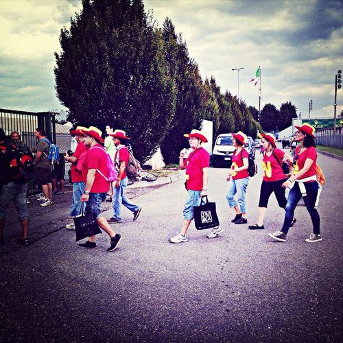 F1 fans in Monza