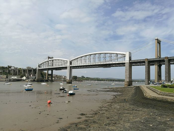 Tamar Bridge Brunel Bridge River Tamar Saltash Plymouth Boats Tidesout Live For The Story