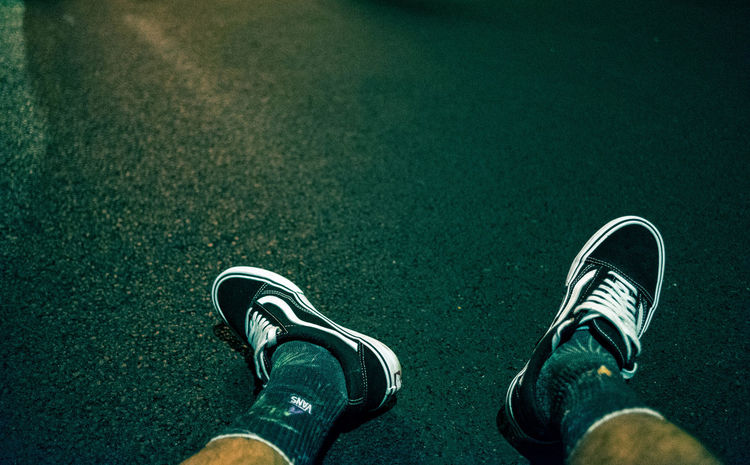 All Vans everything... Low Section Standing Men Human Leg Shoe Canvas Shoe Personal Perspective Directly Above High Angle View Green Color Shoelace Pair Menswear Things That Go Together Sock Flat Shoe The Still Life Photographer - 2018 EyeEm Awards