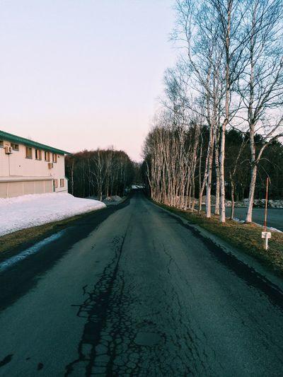 好冷的街道