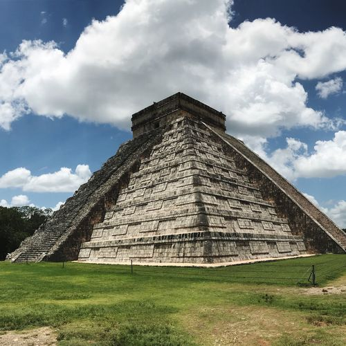 Chichén Itzá 🇲🇽 Vacaciones Viajes  Chichenitza Mexico Cloud - Sky Sky Architecture Nature Built Structure No People Pyramid Travel Tourism History Travel Destinations