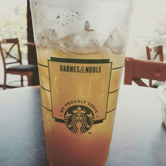 Food Porn Awards Tea Starbucks Peach Green Tea Lemonade Iced Tea Stonebriar Mall Frisco Texas Barnesandnoble