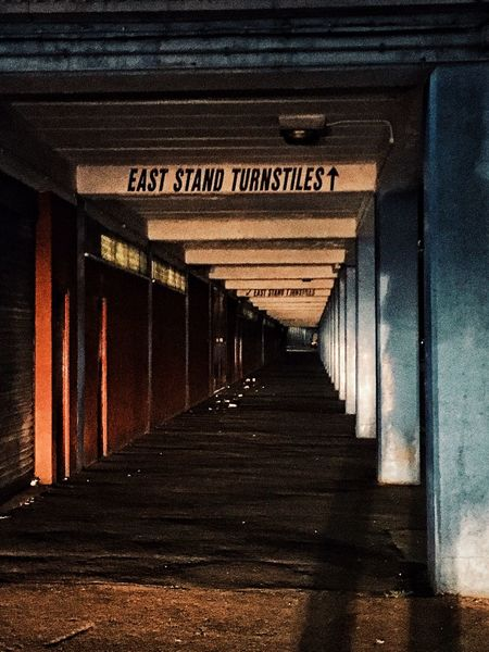 One of my last pictures of the old ground 😔 Boleynground Westham West Ham Utd Old Turnstiles Uptonpark Upton Park East London Chicken Run East Stand