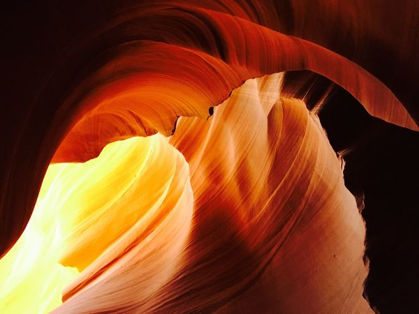 Neon Life EyeEm Best Shots EyeEm Nature Lover EyeEmNewHere EyeEm Gallery Eyeem Photography Antelope Canyon Canyon Hues Arizona Landscape Geology Rock Formation Canyon Sandstone Beauty In Nature Landscape Photography Orange Color Natural Light Photography Amateurphotography Amateur Photography Perspectives On Nature