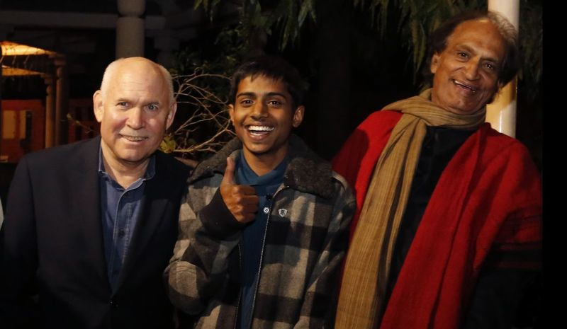 Feeling blessed and happy ...😊 meeting steve sir 3rd time RaghuRai Stevemccurry Magnumphotos
