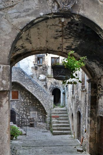 Architecture Built Structure Building Exterior Day No People Outdoors Arch The Week On EyeEm Hystorical Santo Stefano Di Sessanio Abruzzo Architecture Italy Borgo Medievale Hystorical Centre Town Town Street