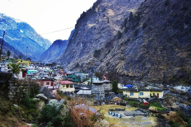 Small Village Mythical Historical Place Mahabharata Holy Place Hindu Temple Tourist Spot Culture Of India Colourful Nature Snowcapped Mountain Blue Mountains Mountain Range Rocky Mountains Valley Togetherness Village Concrete High Altitude Cold Temperature Mountain City Sky Close-up Residential Structure Building Human Settlement Snow Covered Settlement Winter Mountain Road TOWNSCAPE Go Higher Summer Exploratorium Visual Creativity The Great Outdoors - 2018 EyeEm Awards The Traveler - 2018 EyeEm Awards