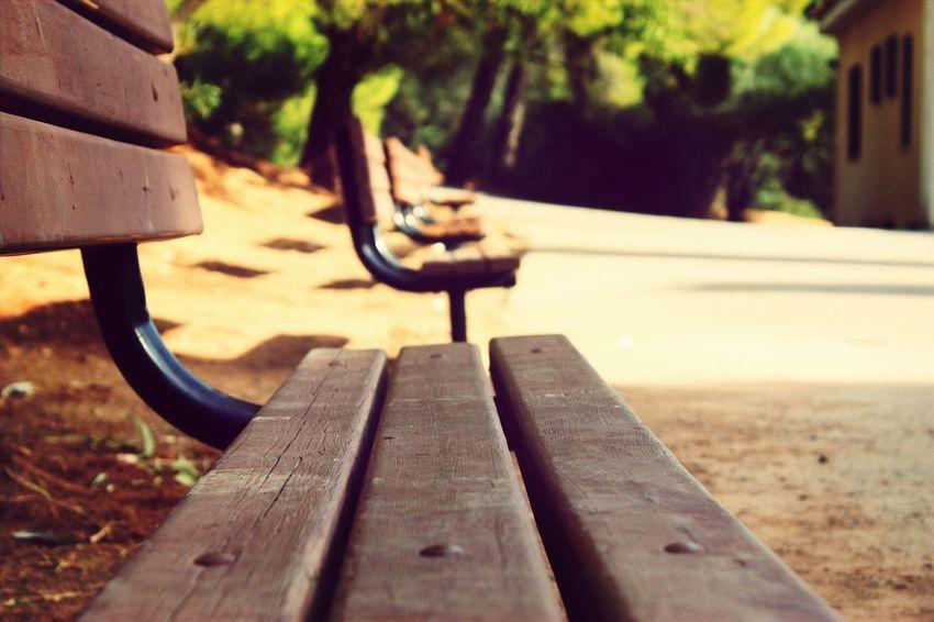 Bench Waiting Alsos Sygrou Canon450d