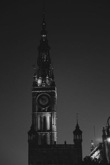 City hall or ratusz in Polish. Standing proud in the middle of old town Gdańsk Gdansk (Danzig) Gdansk_official Gdansk Black And White Photography Black & White Black And White Brick Wall Brick Building The Architect- 2016 Eyeem Awards The Architect - 2016 EyeEm Awards The Great Outdoors – 2016 EyeEm Awards Ratusz Ratuszowa Travel Photography Travel Thyckhang Monochrome Photography