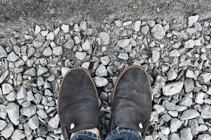 Adapted To The City Nature Photography Footwears One Person Close-up Standing Shoe