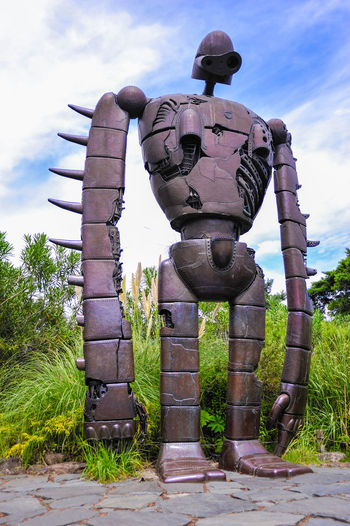 While in Tokyo, make sure check out Ghibli Museum. Such an amazing place, even though you are not an anime fan. Anime Animelover Cloud - Sky Day Ghibli Ghibli Museum Laputa Laputa: Castle In The Sky No People Outdoors Robot Sky Tokyo