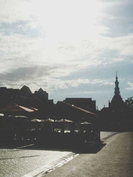 Evening Sun @Havenplein Zierikzee