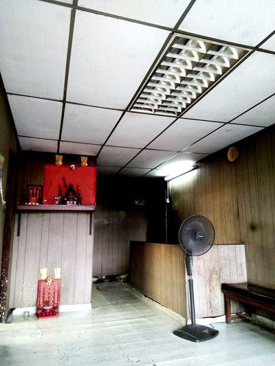 现在的从前 Indoors  No People Red Architecture Day