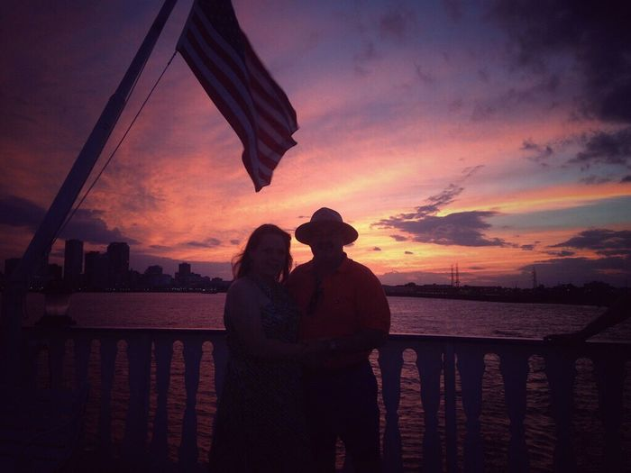 Neighborhood Map Mississippi River Sunset Sea Togetherness Sky Neworleans NewOrleans Music Water Love Silhouette Cloud - Sky Bonding Men Nature Horizon Over Water Women Real People Beauty In Nature Outdoors Beach Scenics Standing