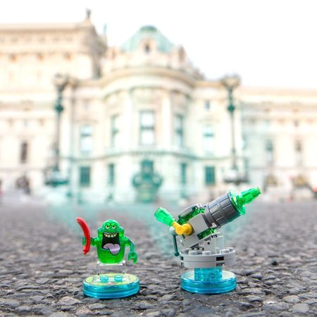 Slimer Ghost Ghostbusters Legodimensions Opera Garnier LEGO