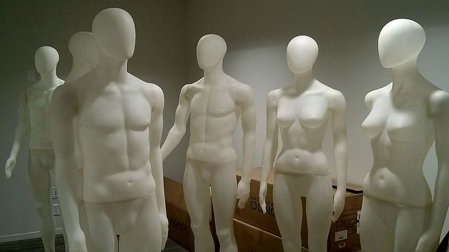 Chicago Scout Mannequins Manequin White Cube Blank Space Aliens Souless