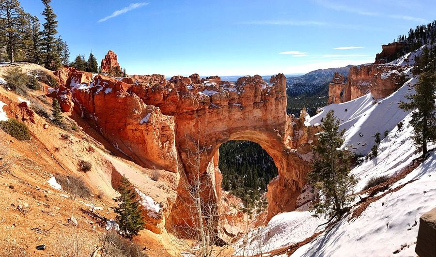 Nature Beauty In Nature Rock Formation Brycecanyon Bryce Canyon National Park Bryce Canyon Natural Bridge  First Eyeem Photo