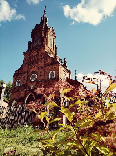 Russia Vladimir Kostel Chirch Summer History Religion Sky Architecture Building Exterior Built Structure Old Ruin