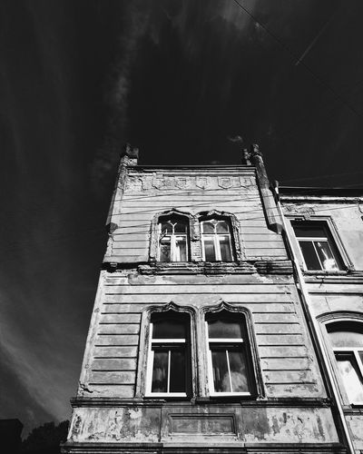 Vinius Lithuania Oldtown Streetphotography Building Monochrome Bw blackandwhite Photography angle First Eyeem Photo Hidden Gems