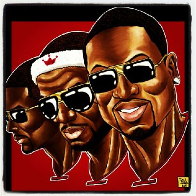 Man that's was a good game BUT IT'S ALL ABOUT DEM HEATS