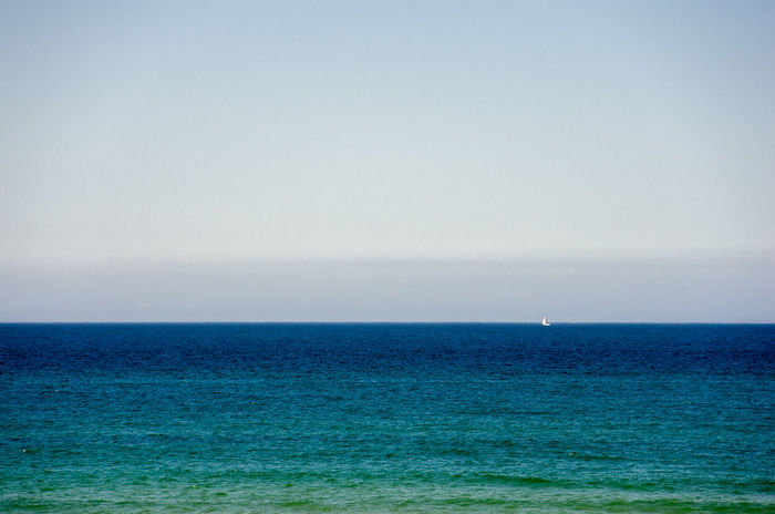 minimal'st Beauty In Nature Blue Clear Sky Copy Space Environment Horizon Horizon Over Water Land Minimal Minimalism Minimalistic Minimalmood Minimalobsession Nature No People Outdoors Scenics - Nature Sea Seascape Sky Tranquil Scene Tranquility Turquoise Colored Urban Skyline Water