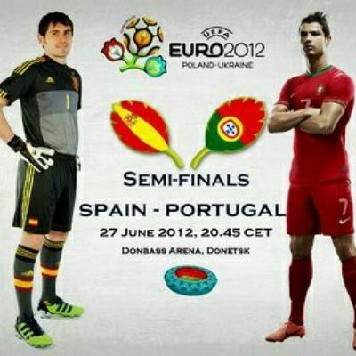EURO2012 SPAIN v Portugal Semifinals europe sports football soccer theworldgame