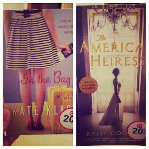 Please be good XD Books Reading Inthebag Theamericanheiress