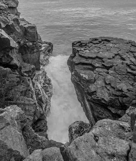 B&w Beauty In Nature Black & White Black And White Black And White Photography Black&white Blackandwhite Blackandwhite Photography Blackandwhitephotography Cliff Hawaii Nature No People Ocean Outdoors Pacific Ocean Rock - Object Rocks Rocks And Water Scenics Sea South Point Hawaii Tranquil Scene Tranquility Water EyeEmNewHere