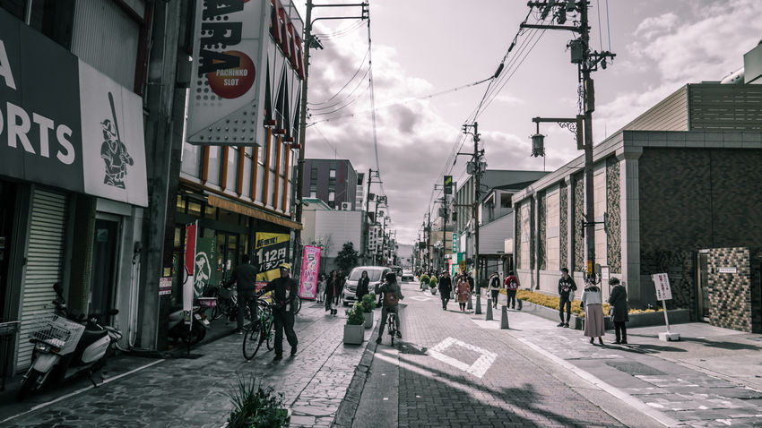 Architecture Building Exterior Built Structure City Day Japan Japan Photography Outdoors Road Sky Street Streetphotography Transportation