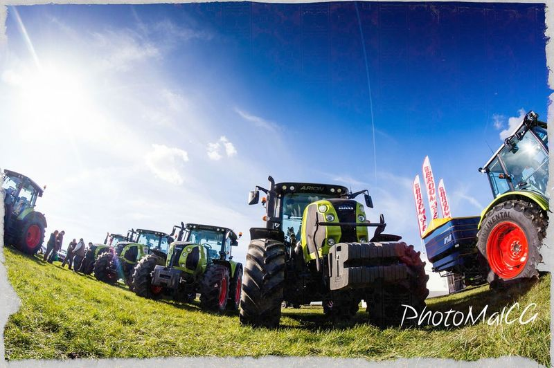 Agri Expo 2014. This is a machinery event for farmers in the south east, where manufacturers show off their machinery.