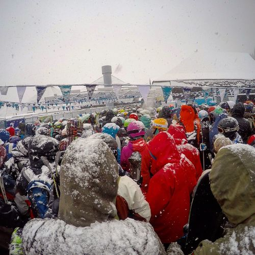 Bariloche Bariloche, Argentina Cerro Catedral Catedral Alta Patagonia Snow Snow ❄ Snowing Snow Falling Snow Fall Nieve Snowboarding People Waiting In Line Waiting For
