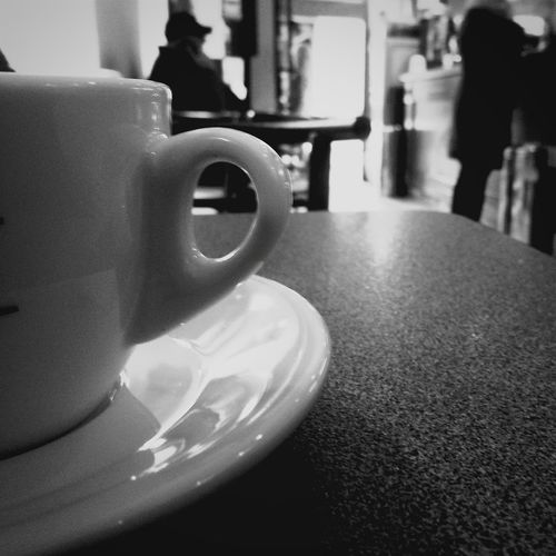 Cappuccino Cappuccino ♥ Capuccino Relaxing Enjoying Life Blackandwhite Black And White Photography B&W Portrait Black & White Black And White Bw Monochrome Cup Breakfast Breakfast ♥ Breakfast Time BreakfastTime  Breakfast Time! Bar