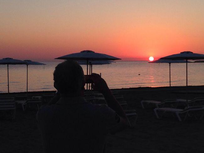 Denia Sunset Amazing On The Beach