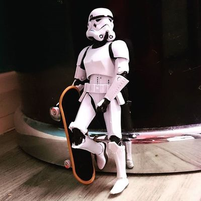 Norman got some extra work modeling for the Deathstar worker magazine. Casual! Normanthetrooper Starwars Afosw Toyphotography Toysalive Toyslagram Toyunion Toydiscovery @toydiscovery Stormtrooper . Starwarsblackseries @starwarsblackseries Starwarselite Onlytroopersaresoprecise