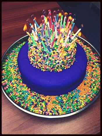 Amazing cake ?? happy birthday to me ? Birthday Cake Happyness Luckygirl