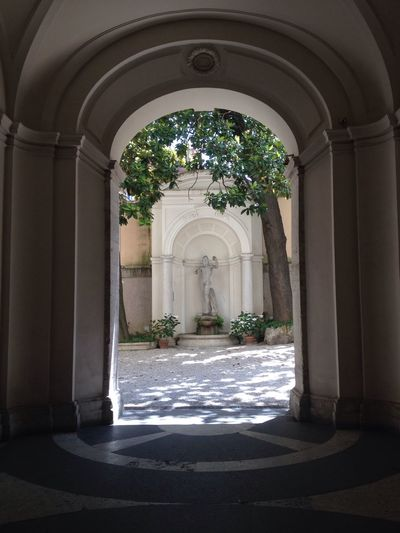 Courtyard  Courtyards Statue Hidden Places Check This Out Garden Architecture Art Culture