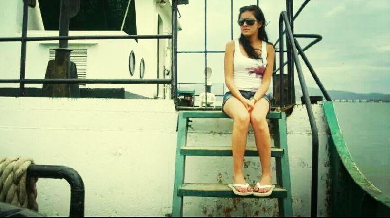 Hace un par de años On The Ferry Manabí Ecuador Traveling