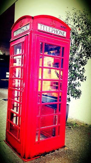 Telephone Box ^^ it feels like london