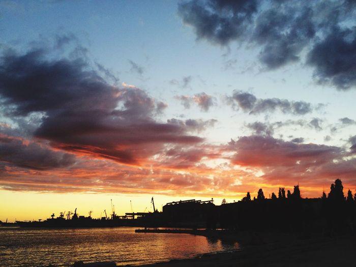 Beautiful sunset ☀️ First Eyeem Photo