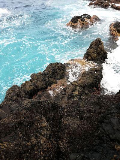 Sea Beach Water Nature Wave Rock - Object No People Day Beauty In Nature EyeEm Nature Lover Huawei P8 Lite EyeEmNewHere EyeEm Gallery EyeEm Outdoors Beauty In Nature Nature Canarias Islands