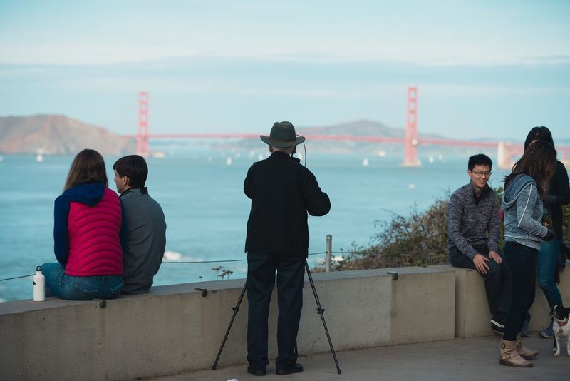 A Man who shoots film Eye4photography  San Francisco Portrait People GoldenGateBridge EyeEm Best Shots EyeEm Best Edits California EyeEmBestPics EyeEm Gallery