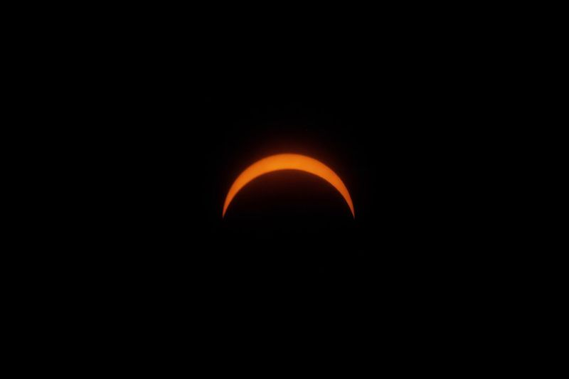 87.2% Totality The Week On EyeEm Night Orange Color Eclipse Moon Dark No People Beauty In Nature Astronomy Natural Phenomenon Nature Outdoors Solar Eclipse Sky Black Background Space Solar Eclipse 2017