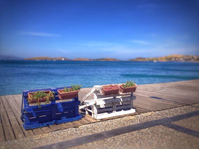 Traveling On The Road Seaside Relaxing Silence Foca Izmir