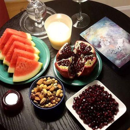 HAPPY YALDA. YALDA NIGHT Iran #tehran #yalda Happy Yalda Iranian Yalda Ceremony