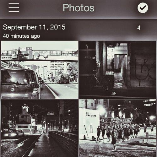 Today's Hot Look Contact Sheets Black & White EyeFi mobi Screenshot LUMIX GX1+KitLens